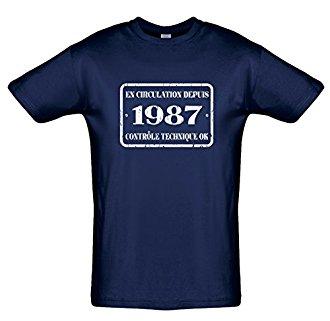 Tee shirt 30 ans En circulation depuis...