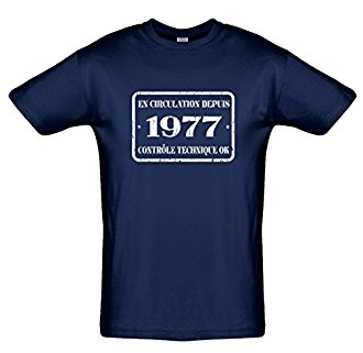 Tee shirt 40 ans En circulation depuis.