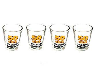 Pack 4 shooters 50 ans