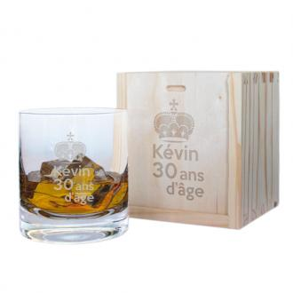 Verre à Whisky personnalisé