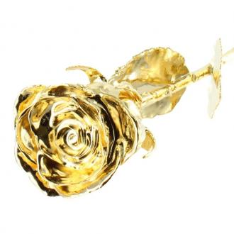 Rose en or personnalisable