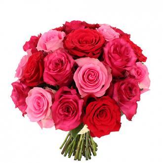 Bouquet 21 belles roses