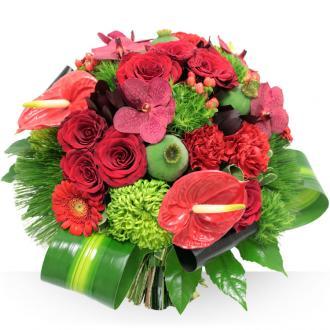 Grand bouquet Cardinal