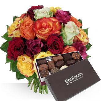 Choco Passion : fleurs et chocolats