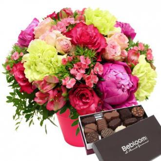 Bouquet Maman et chocolat