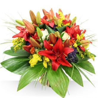 Bouquet de Lys Aurore