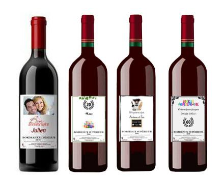 Exemples de Bordeaux personnalisé