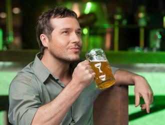 Buveur de bière