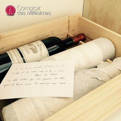 coffret vin départ en retraite