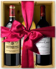 Bouteille de vin année spéciale