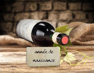 Bouteille de vin 1972