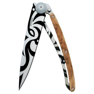 Couteau de poche maori Gen�vrier