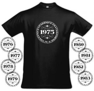 Tee shirt homme vintage spécial année