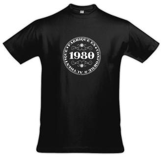 Tee shirt année de naissance au choix