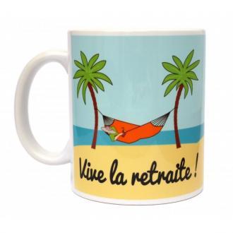 Mug Personnalisable Vive la Retraite