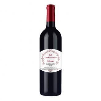 Bouteille de Bordeaux personnalisée