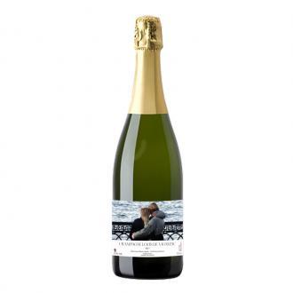 Champagne coffret bois personnalisé