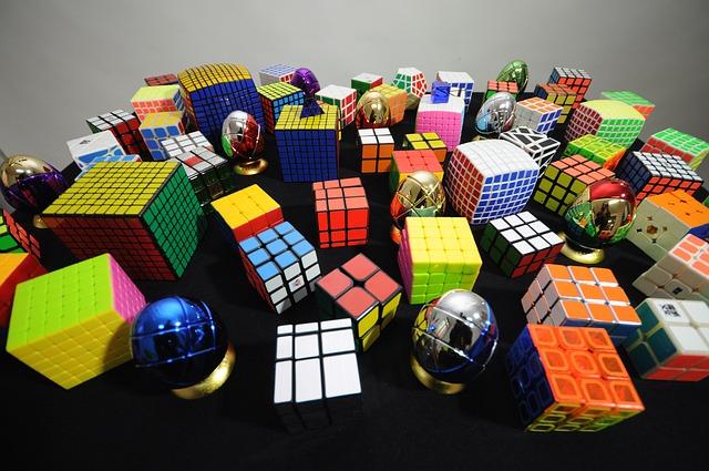 idée cadeau rubiks cube