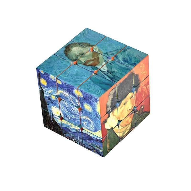 rubiks cube van gogh