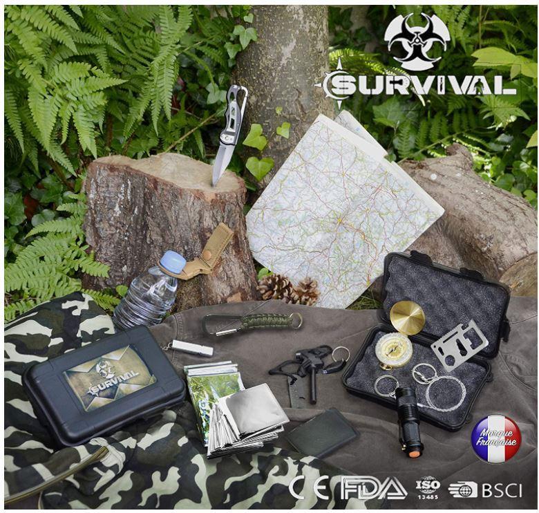 Un kit de survie d'urgence