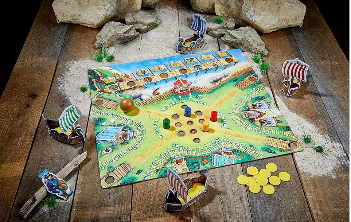 Le plateau de jeu : La vallée des vikings