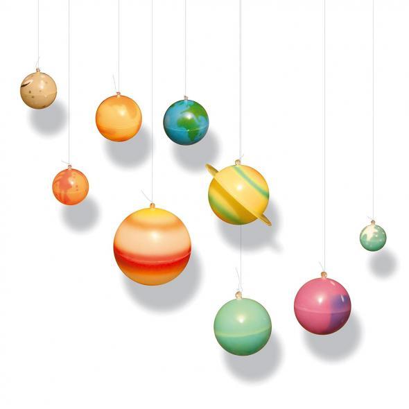 Planetes du systeme solaire à accrocher