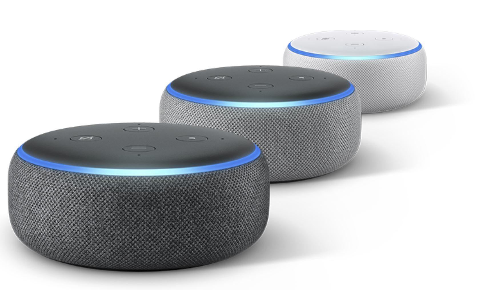 Alexa Amazon Echo Dot 3