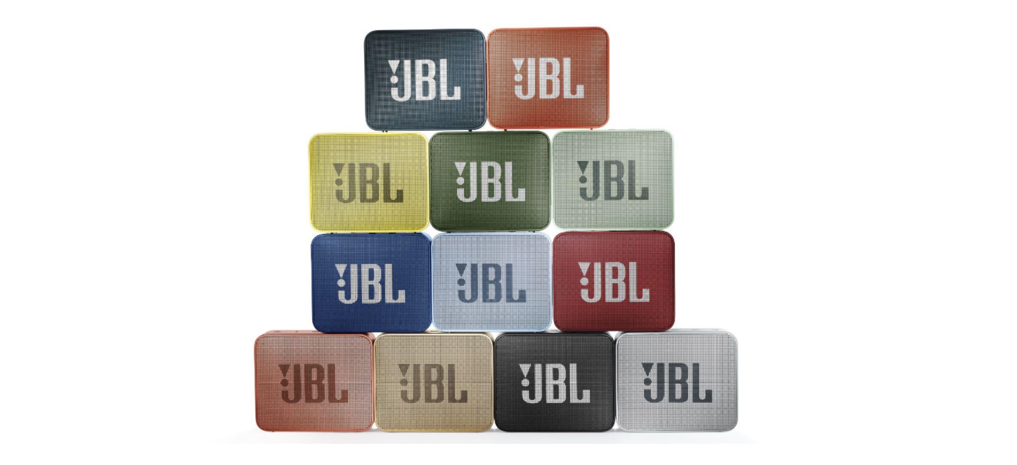 jbl go 2 couleurs