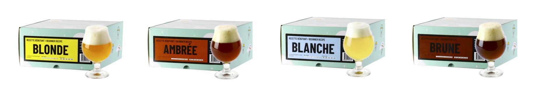Les kits de recharge Beer Kit